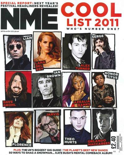 Cool List NME 11