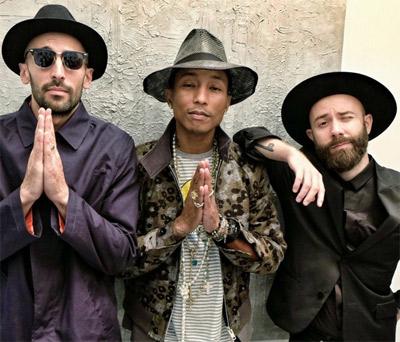 JR Pharrell Williams Woodkid
