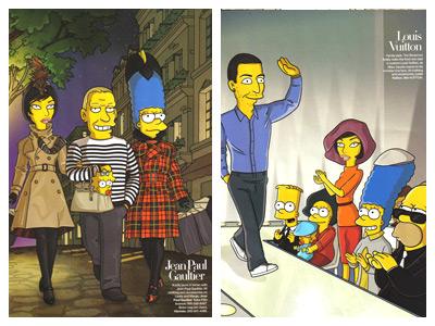 Simpsons Harper's Bazaar