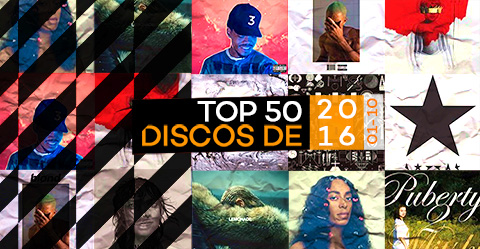 TOP 50 de discos de 2016 – # 01-10