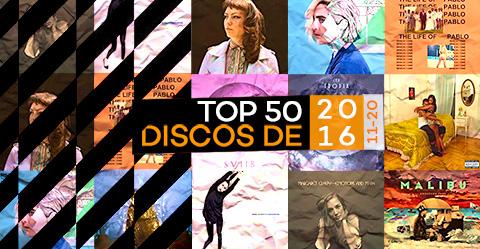 TOP 50 de discos de 2016 – # 11-20