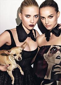 Scarlett Johansson e Natalie Portman - W